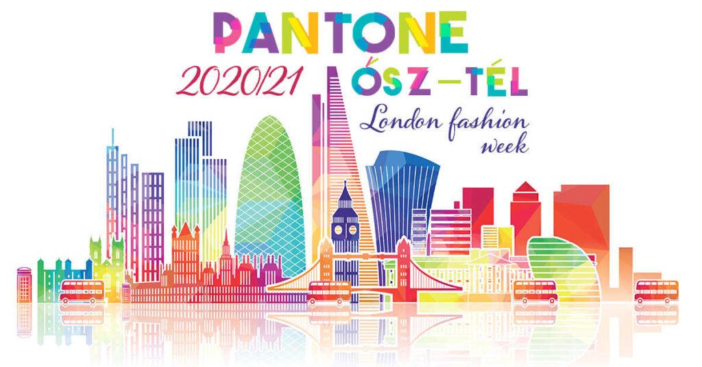 Pantone színek 2020 ősz tél London
