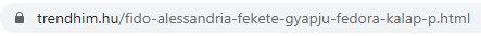Termék URL kulcsszóval és terméknévvel