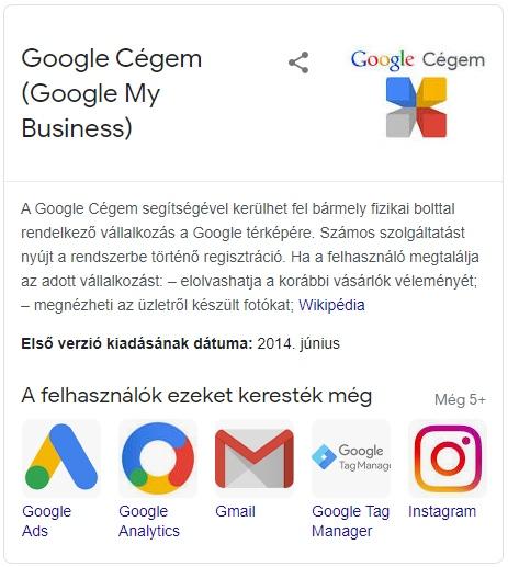 Lokális SEO local SEO Google Cégem