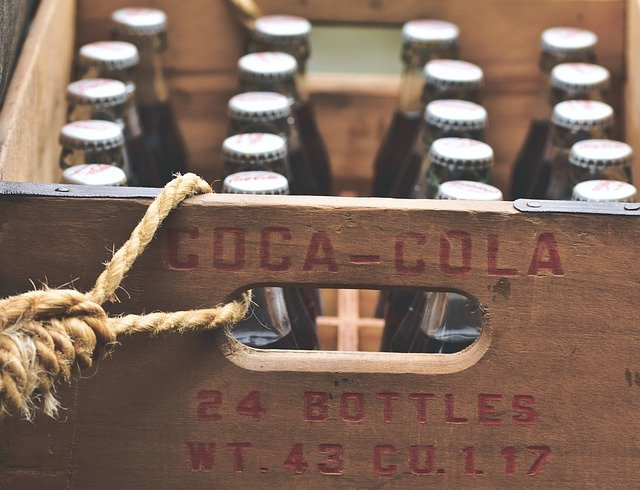 coca cola üvegek